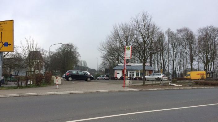 Bushaltestelle Bechen